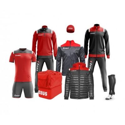 Спортен комплект Box Vesuvio Red/ Grey, ZEUS