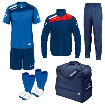 Комплект футболно оборудване Box Concept, SPORTIKA