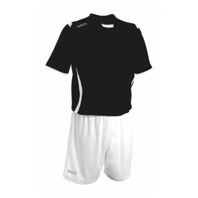 Футболни екипи Black White GECO