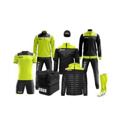 Спортен комплект Box Vesuvio Black/ Yellow Fluo, ZEUS