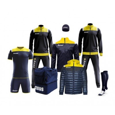 Спортен комплект Box Vesuvio Blue/ Yellow, ZEUS