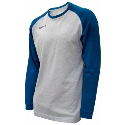 Дълга памучна памучна риза Wave, MACRON