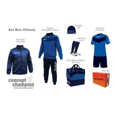 Комплект Футболни екипи Box Vittoria GIVOVA
