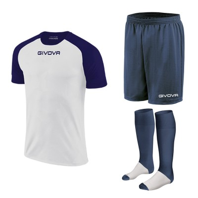 Комплект футболно оборудване, риза Capo, престилка и клинове, GIVOVA
