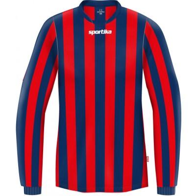 Футболна риза с дълъг ръкав Stripe, SPORTIKA